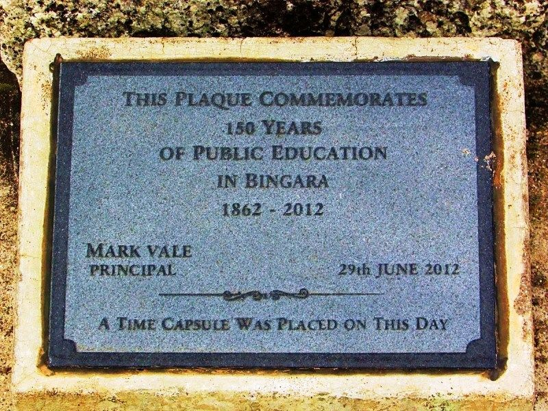 Plaque Inscription: 12-July-2016