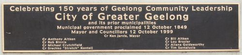 150 years of Geelong Community Leadership : 28-August-2011