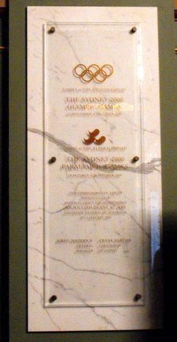 2000 Olympics & Paralympics & Centenary of Federation : 03-January-2013