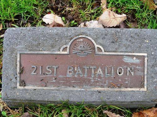 21st Battalion : 21-September-2011