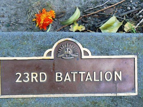 23rd Battalion : 21-September-2011