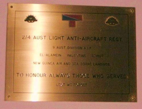 2 4 Light Anti Aircraft Regt