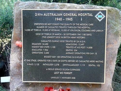2nd / 4th Australian General Hospital : 9-March-2012