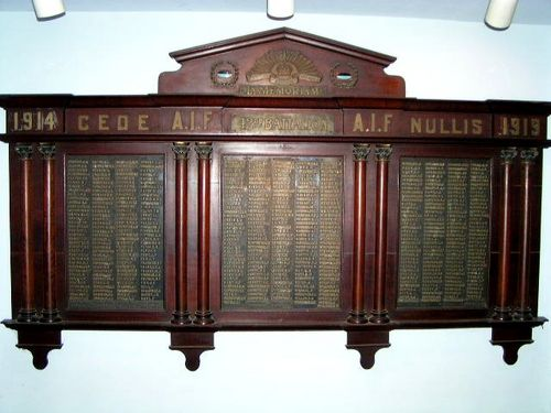 42nd Battalion Roll of Honour