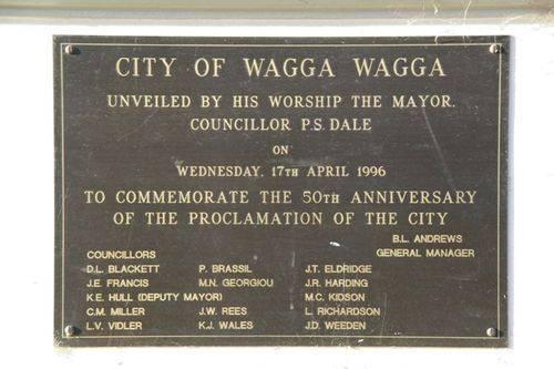 50th Anniversary Wagga Wagga City