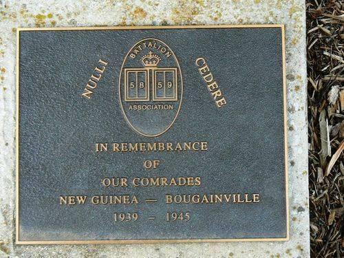 58 and 59 Battalion Memorial