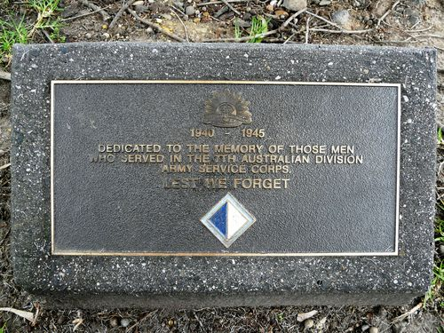 7th Australian Division Army Service Corps : 21-September-2011