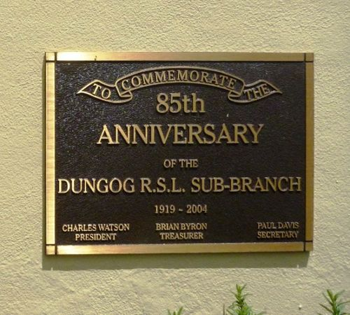 85th Anniversary of Dungog RSL : 17-December-2012