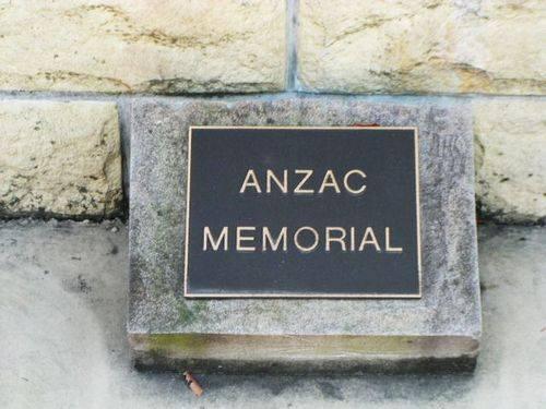 ANZAC Memorial Inscription  Oct 2012