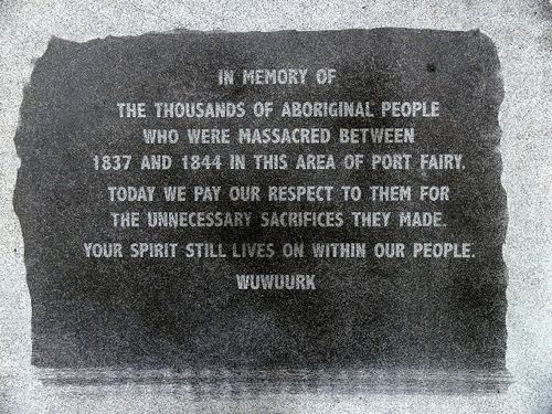Aboriginal Massacres Monument : 17-June-2011