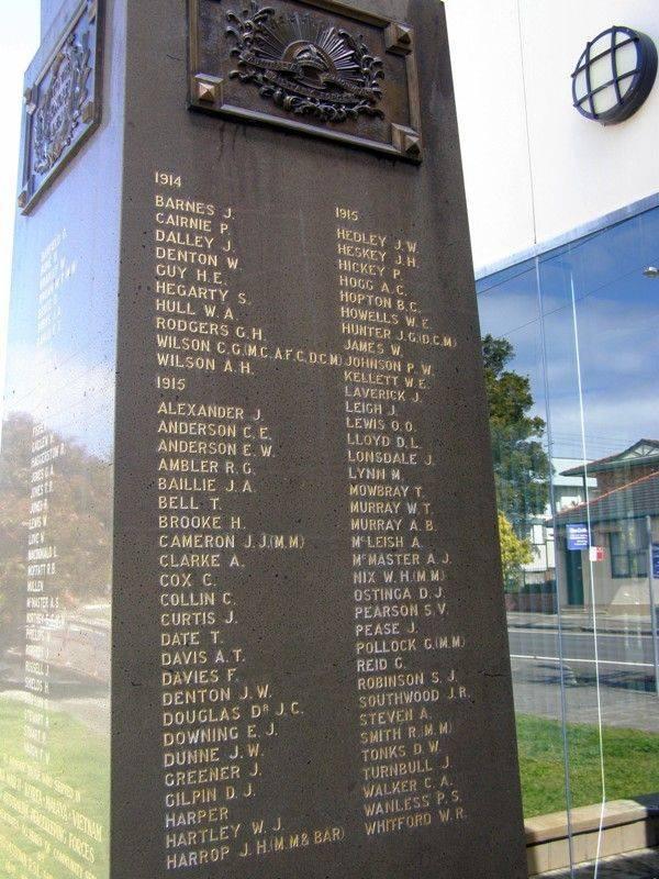 War Memorial 6 : 07-September-2014