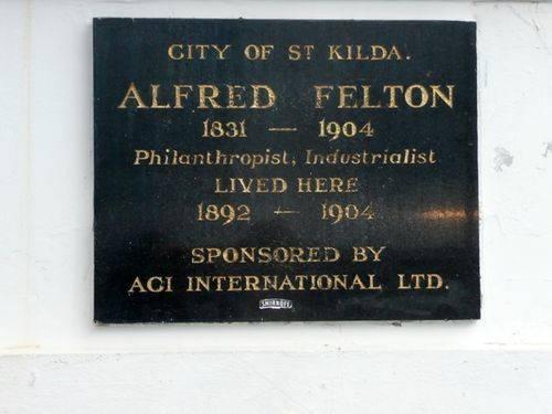 Alfred Felton : 14-April-2013