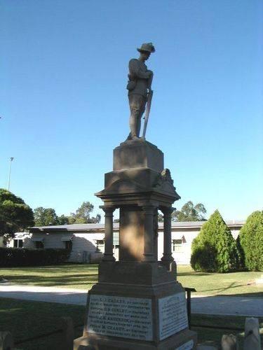 Allora Boer War Memorial