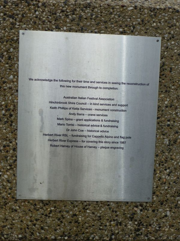 Acknowledgement Plaque : 19-October-2014