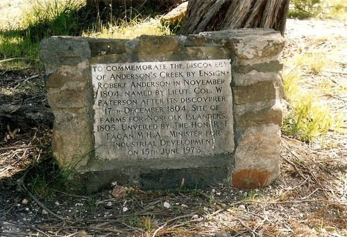 Anderson Creek Monument