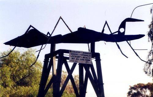 Ant Sculpture Broken Hill