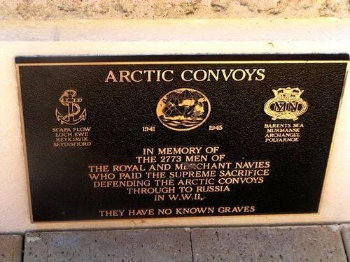 Arctic Convoys Plaque