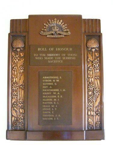 Ardlethan WW2 Honour Roll : 27-03-2014