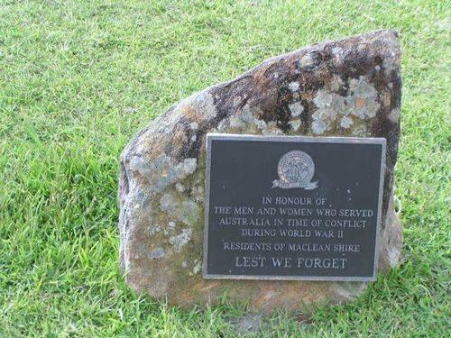 Australia Remembers Plaque