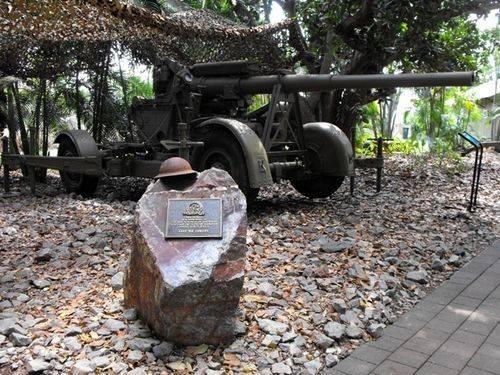 Australia Remembers Plaque / April 2013