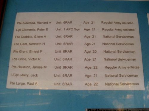 List One of Fallen : 29-06-2009