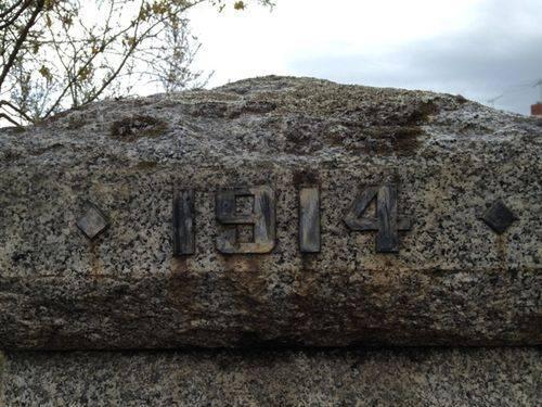 Memorial Gates 1914 Inscription : 16-09-2013