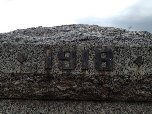 Memorial Gates 1918 Inscription : 16-09-2013