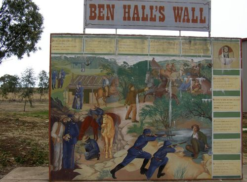 Ben Hall`s Wall : 16-August-2014