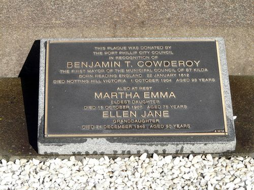 Benjamin Cowderoy : 14-June-2013