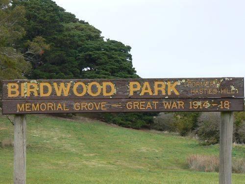 Birdwood Park Memorial Grove : 19-April-2012