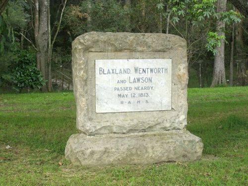 Blaxland, Lawson & Wentwoth : 23-03-2014