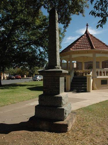Boer War Memorial : 08-June-2013