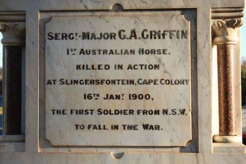 Boer War Memorial : 10-July-2011