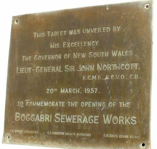 Boggabri Sewerage Works : 14-August-2014