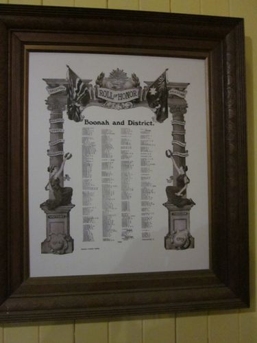 Boonah & District Honour Roll : 26-05-2012