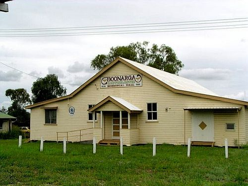 Boonarga Cactoblastis Hall