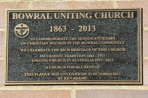 Sesquicentenary Plaque : August-2014
