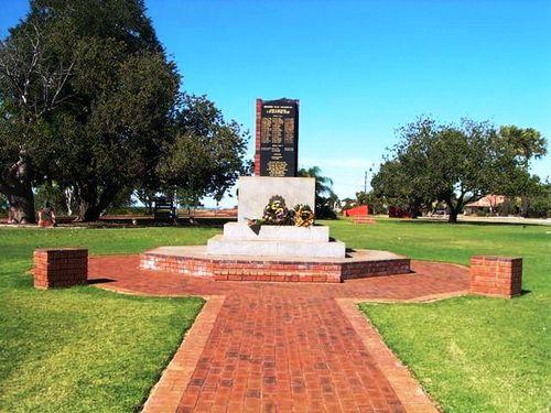 Broome War Memorial: 2012