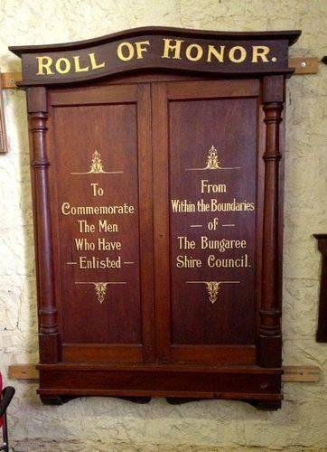 Bungaree Shire Honour Roll 2 : November 2013