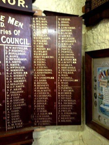 Bungaree Shire Honour Roll 4 : November 2013