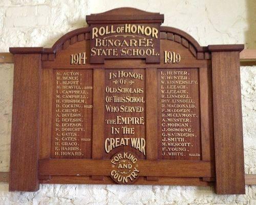 Bungaree State School Honour Roll :November 2013