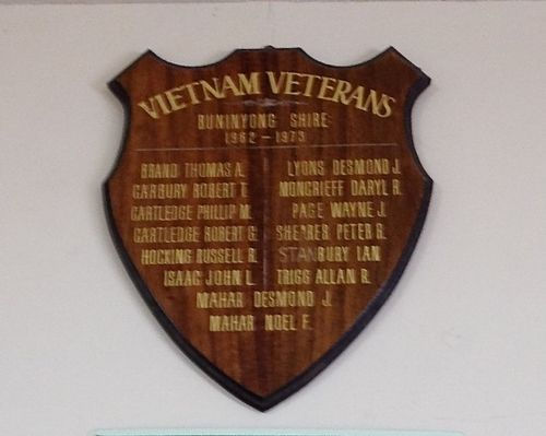 Vietnam Veterans Honour Roll : November 2013