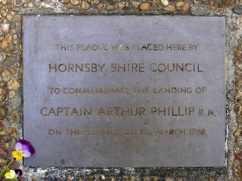 Captain Phillip Landing Plaque  : 29-September-2014