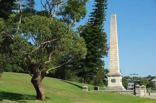 Captain Cooks Landing Site Obelisk