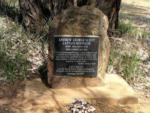 Captain Moonlites Grave