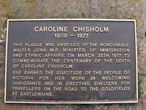 Caroline Chisholm : 10-July-2011