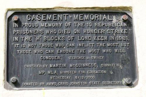 Casement Memorial : 04-October-2011