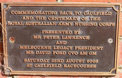 Centenary of Royal Australian Army Nursing Corps : 10-March-2013