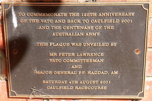 Centenary of the Australian Army : 10-March-2013