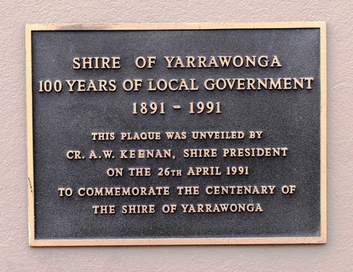 Centenary of the Shire of Yarrwonga : 23-July-2012
